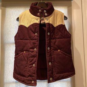 True Religion corduroy vest